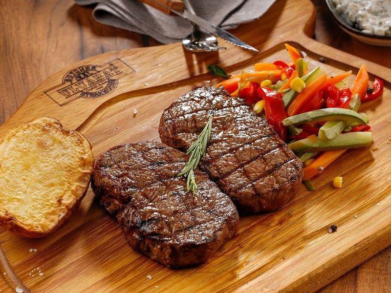 Biftek s povrćem