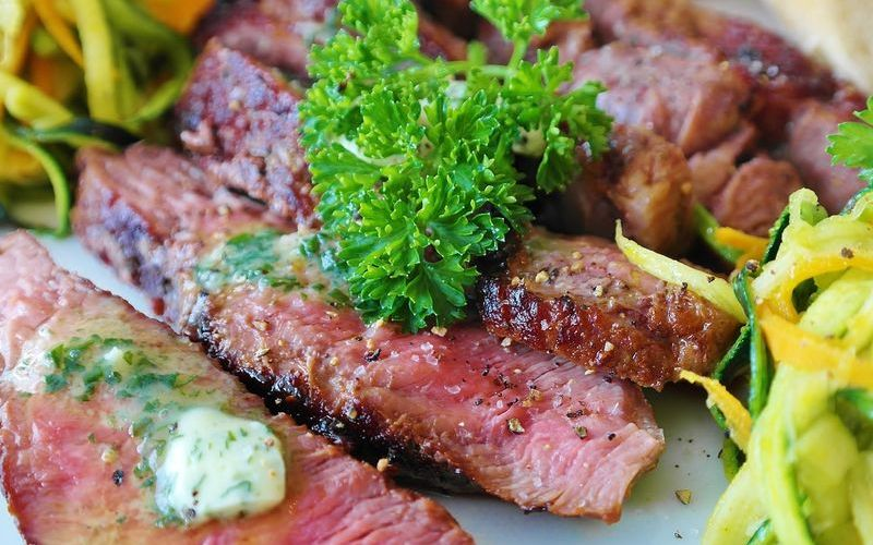 biftek u zelenom papru