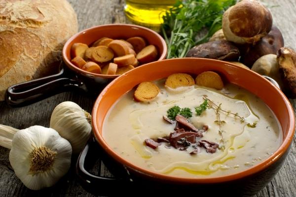 gusta juha od vrganja