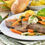Kuhana govedina s povrćem
