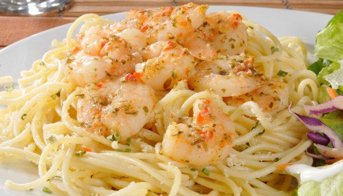 špagete sa škampima