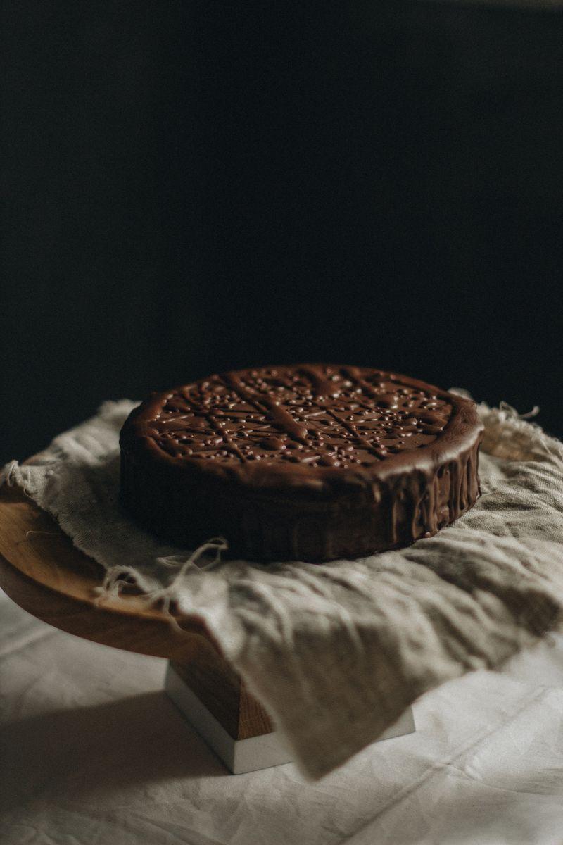 bezglutenska čokoladna torta