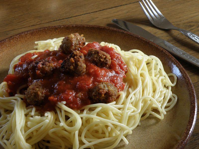ćufte sa špagetima