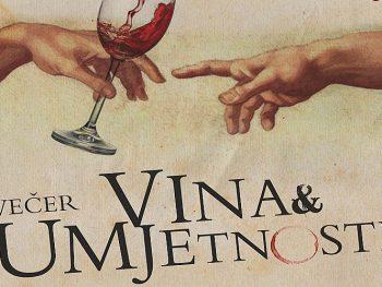 večer vina i umjetnosti