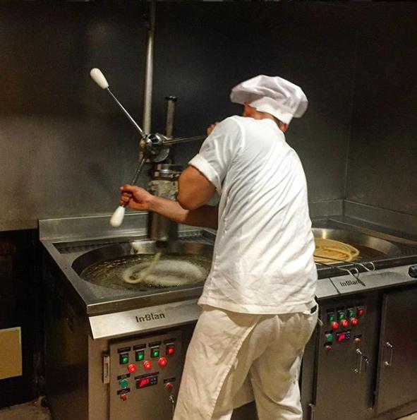 priprema churrosa