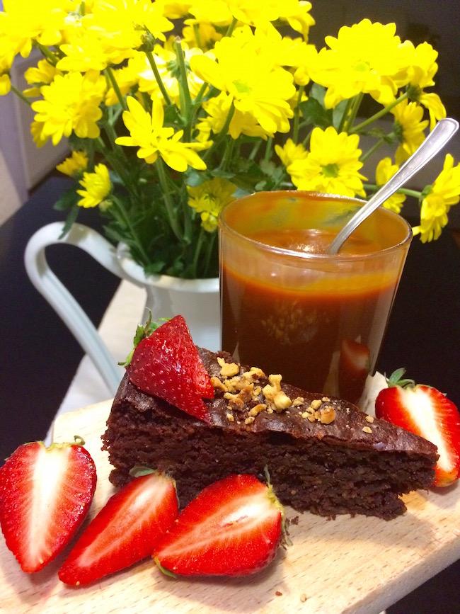 cokoladna caprese torta