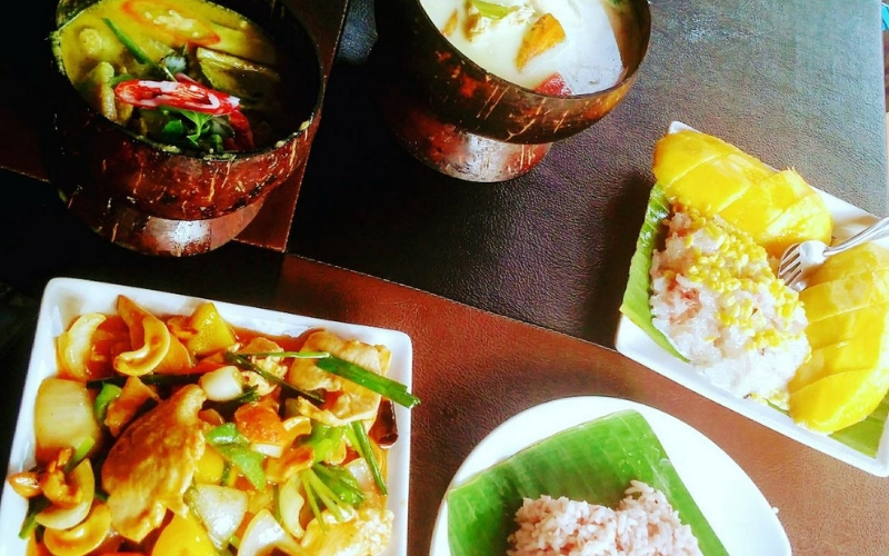 hrana s Tajlanda