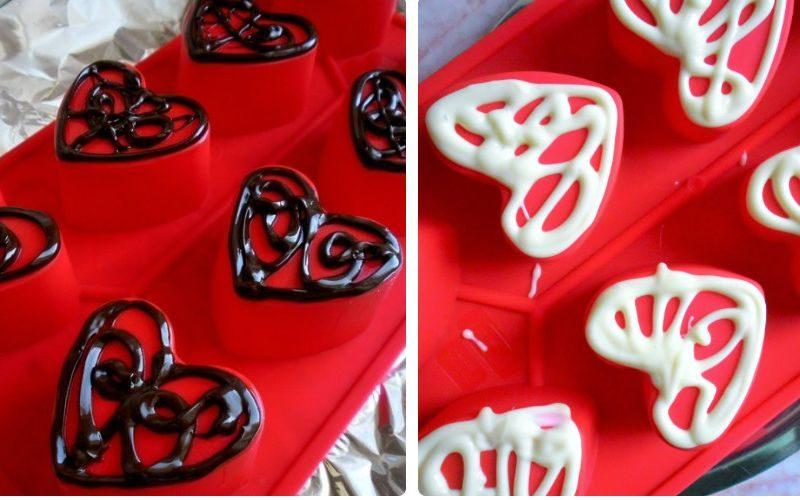 cokoladna srca priprema