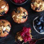 veganski muffini s borovnicama