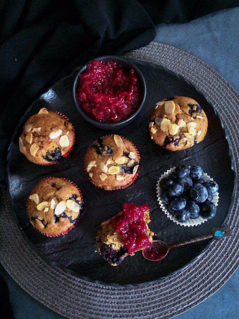 vege muffini s borovnicama