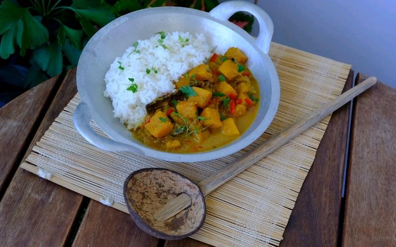 curry od buce s rizom