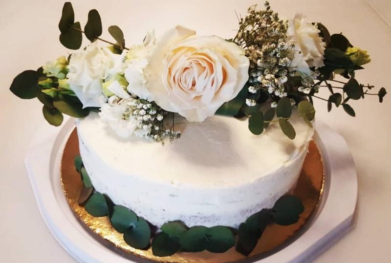 torta s cvijecem