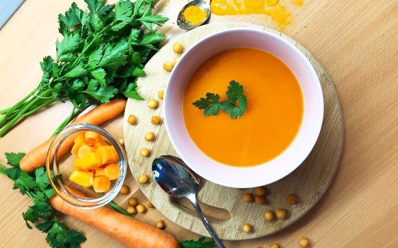 Krem juha od mrkve i buče