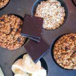 muffini od banane, grčkog jogura i zobenih pahuljica