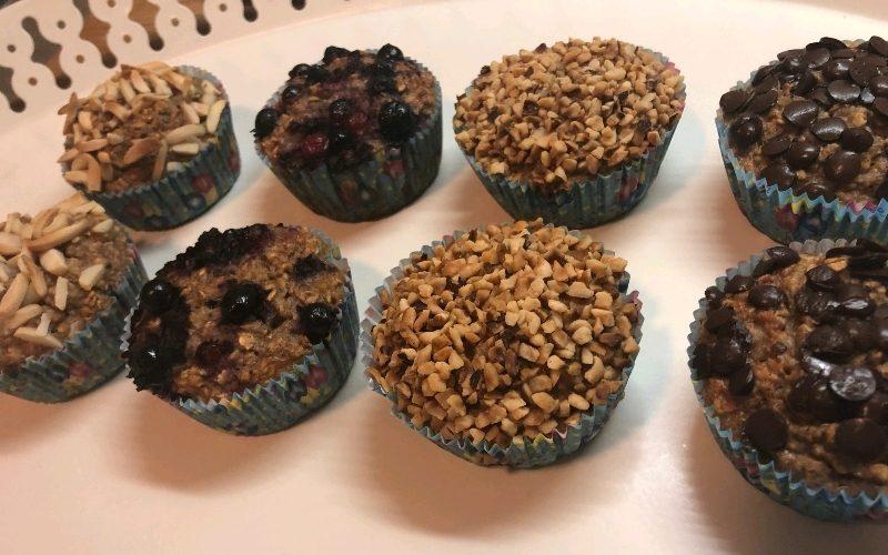 muffini sa zobenim pahuljicama