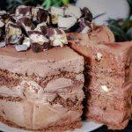 Čokoladna torta s bananicama