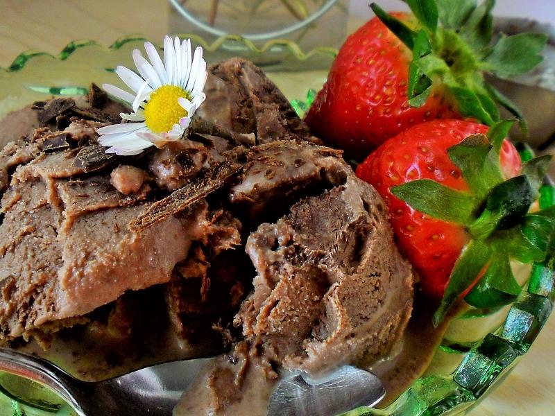 Sladoled od čokolade bez jaja